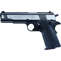 PISTOLET COLT GOVERNMENT 1911 A1 4.5 CO² DARK OPS BICOLORE