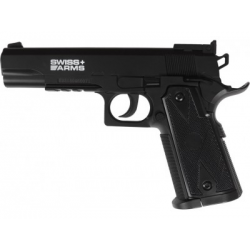 PISTOLET SWISS ARMS P1911 MATCH CO2 4,5 MM