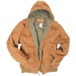 BLOUSON MILTEC CANVAS COYOTE XL