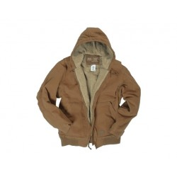 BLOUSON MILTEC CANVAS MARRON M