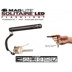 MINI LAMPE MAGLITE SOLITAIRE AAA LED
