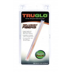GUIDON TRUGLO SET DE 5 FIBRES OPTIQUE FLUO D 0,75MM LONG 14C