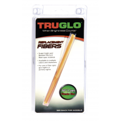 GUIDON TRUGLO SET DE 5 FIBRES OPTIQUE FLUO D 2MM LONG 14CM