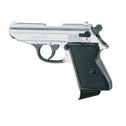 PISTOLET CHIAPPA LADY K 9MM CHROME A BLANC