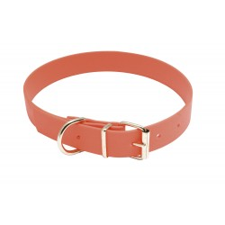 COLLIER EUROPARM BIOTHANE ORANGE FLUO 25MM X 60CM