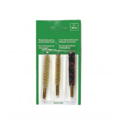 KIT EUROPARM 3 BROSSES POUR ARMES A CANON RAYE CAL 9MM