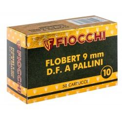 CARTOUCHES FIOCCHI 9MM DB CH PB10 BOITE DE 50