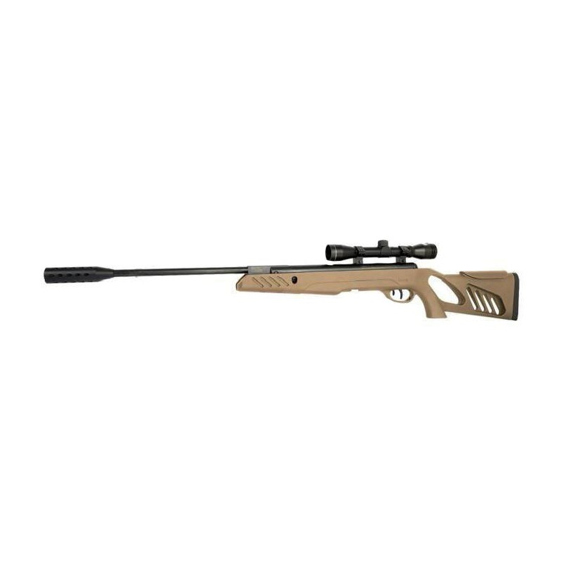 CARABINE SWISS ARMS TAC1 TAN 4,5MM + LUNETTE 4X32PBG 62 ArmureriePlombs 4.5mm