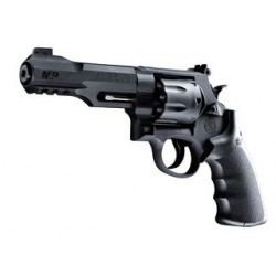 REVOLVER SMITH & WESSON UMAREX R8 4.5 NOIR CO2
