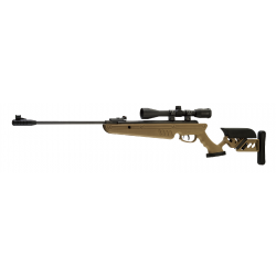 CARABINE SWISS ARMS TG1 TAN 4.5MM + LUNETTE 4X40
