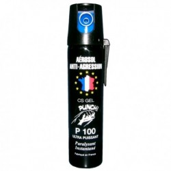 AEROSOL GEL ANTI AGRESSION LONGUE PORTEE PUNCH 100ML
