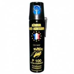 AEROSOL GAZ ANTI AGRESSION LONGUE PORTEE PUNCH 50ML