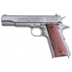 PISTOLET SWISS ARMS P1911 SEVENTIES STAINLESS CAL 4.5