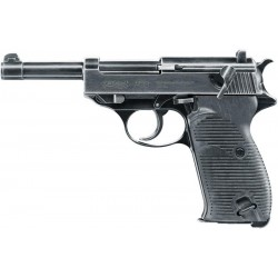 PISTOLET UMAREX LEGENDS P38 WWII CO2 4.5 MM BLOW BACK