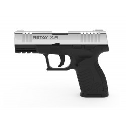 PISTOLET A BLANC RETAY XR NICKEL 9MM