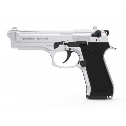 PISTOLET A BLANC RETAY MOD92 NICKEL 9MM
