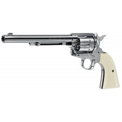 REVOLVER PLOMB UMAREX COLT NICKEL CO2 4.5MM 2.9J