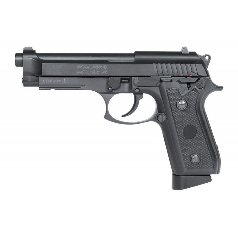 PISTOLET SWISS ARMS PT92 METAL CAL 4.5