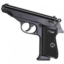 PISTOLET A BLANC WALTHER PP NOIR 9MM
