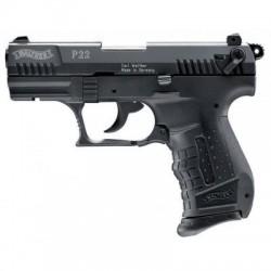 PISTOLET A BLANC WALTHER P22 NOIR 9MM