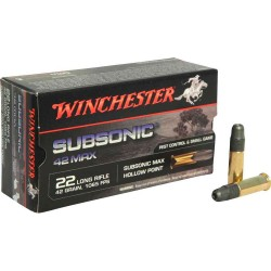 WINCHESTER 22 SUBSONIC X50