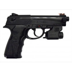 PISTOLET CROSMAN TACC31 CO2 AIR COMPR 4.1J AVEC LASER