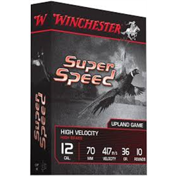 WINCHESTER SUPER SPEED CAL12 PB7 36G X10