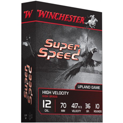WINCHESTER SUPER SPEED CAL12 PB 4 36G X10