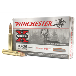 WINCHESTER 30 06 180GR POWER POINT