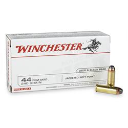 WINCHESTER 44 REMINGTON MAGNUM JSP 240G X50