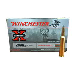 WINCHESTER 7RM 175GR POWER POINT X20