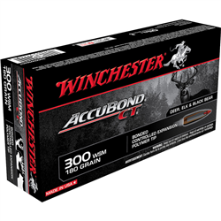 WINCHESTER 300WSM ACCUBOND CT 180GR
