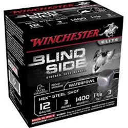 WINCHESTER STEEL BLIND SIDE 12/76 X25 39G P3