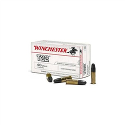 WINCHESTER 22LR CUIVRE T22 X50