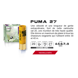 MARY PUMA  27GR BJ 20 4 X25