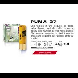 MARY PUMA  27GR BJ 20 5 X25