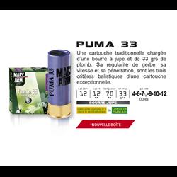 MARY PUMA 33G PB4 12 X25