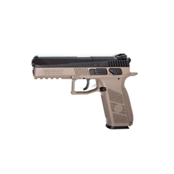 PISTOLET ASG CZ P09 NOIR TAN 4.5 CO2
