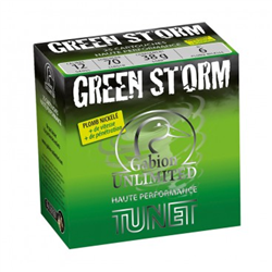TUNET GABION GREEN STORM 12/70 38G PB4 X25