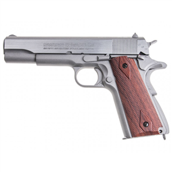 PISTOLET SWISS ARMS P1911 STAINLESS CAL 4.5