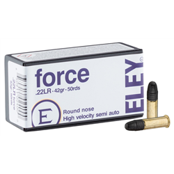 ELEY 22LR FORCE PAR 50