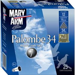 MARY PALOMBE 34G PB7 12 X25