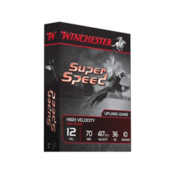 WINCHESTER SUPER SPEED CAL12 PB5 36G X10