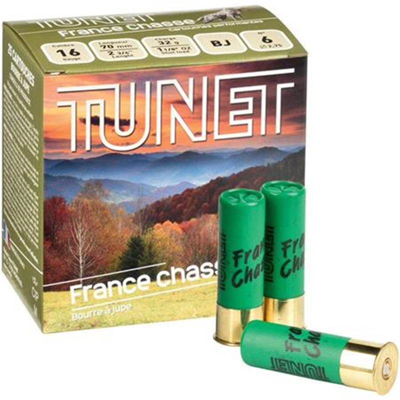 TUNET FRANCE CHASSE 16 32G PB7 X25ArmurerieCalibre 16