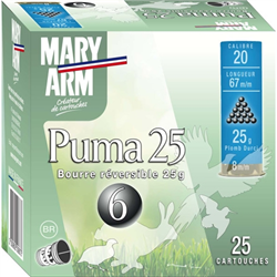 MARY ARMS 20/6 BOURRE REVERSIBLE