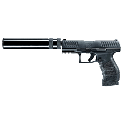 PISTOLET A BLANC WALTHER PPQ + SILENCIEUX 9MM