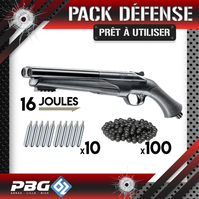 PACK DEFENSE UMAREX HDS68PBG 62 ArmurerieArmes balles caoutchouc