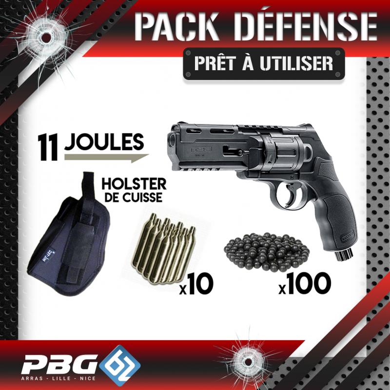 PACK DEFENSE UMAREX HDR50 HOLSTERArmurerieArmes balles caoutchouc
